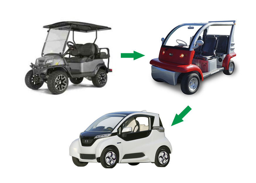 A General View of Small Electric Vehicles