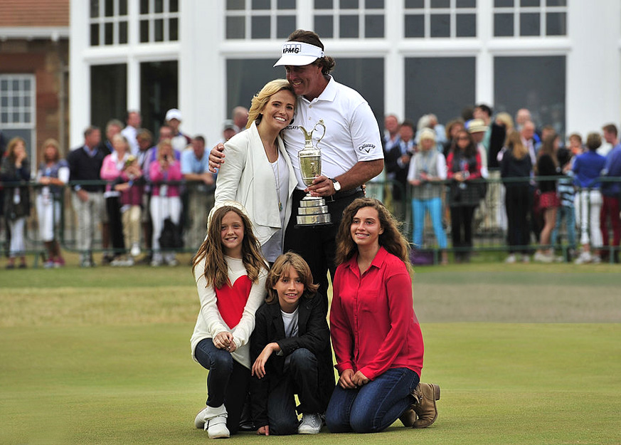 Phil Mickelson: a Good Golf Player and a Better Father