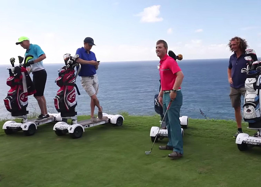 GolfBoard: Play Faster, Have Fun & Play Better