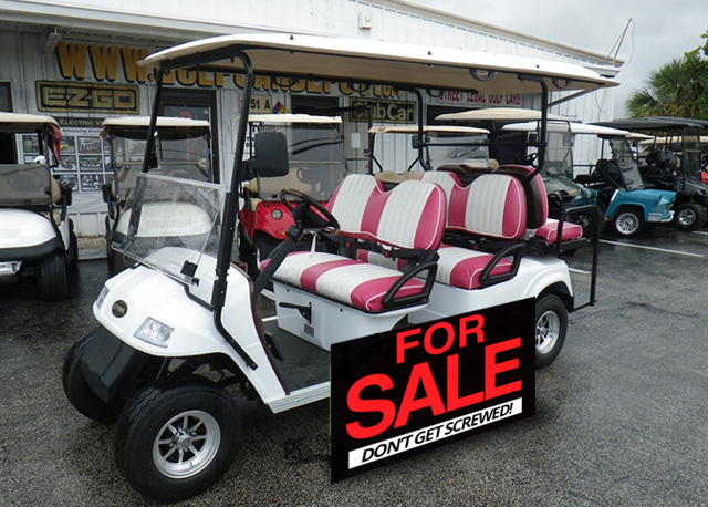 Things to Check When Purchasing a Used Golf Cart?